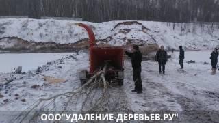 Аренда измельчителя веток в Москве и Области