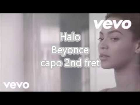 halo beyonce lyrics and chords