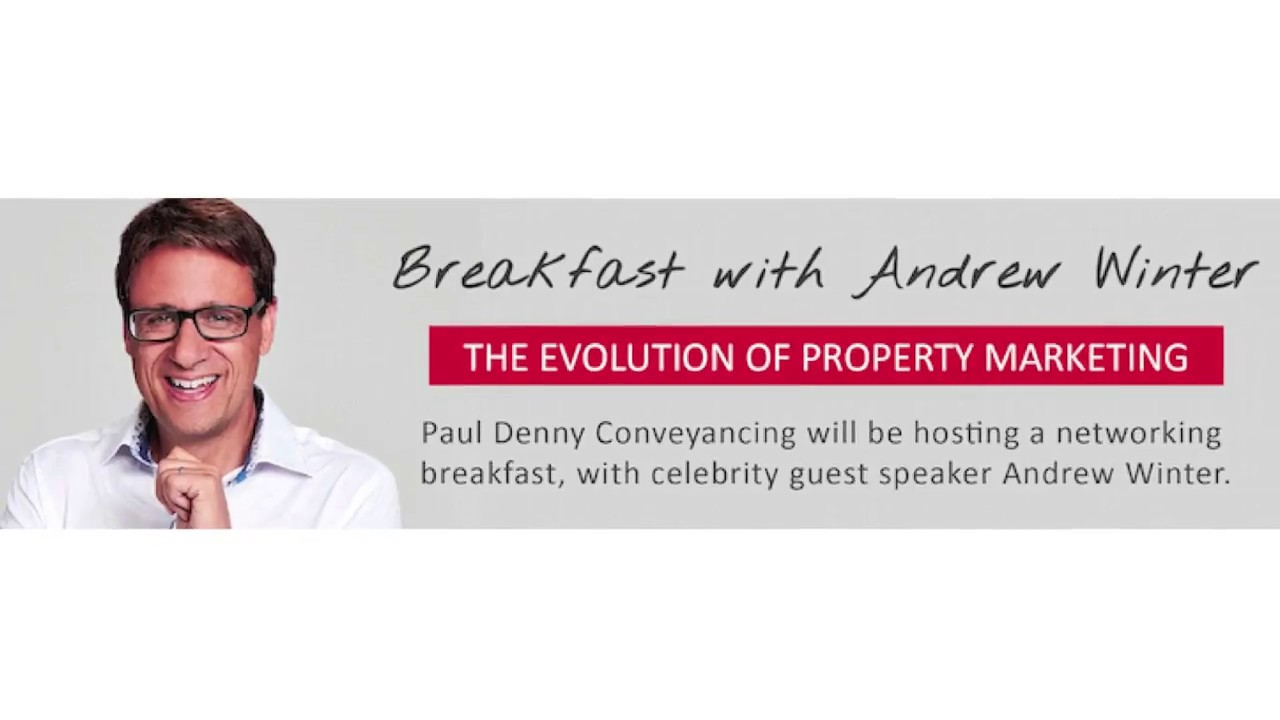 The Evolution of Property Marketing with Andrew Winter - October 2017