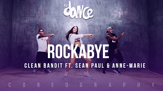 Video Rockabye - Clean Bandit ft. Sean Paul & Anne-Marie - Choreography - FitDance Life download MP3, 3GP, MP4, WEBM, AVI, FLV Desember 2017