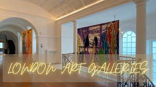 Exploring London Art Galleries...