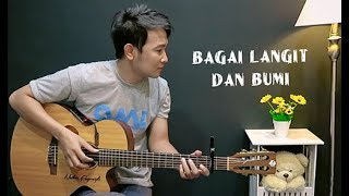 Download Video Bagai Langit Dan Bumi - Nathan Fingerstyle | Guitar Cover | Via Vallen | Nella Kharisma MP3 3GP MP4