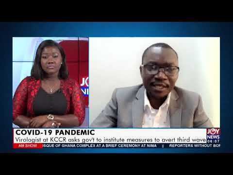 Covid-19 Pandemic: Virologist at KCCR asks gov't to institute measures to avert third wave (19-7-21)