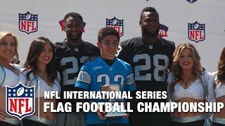 Raiders Coach Tochito Flag Football Championship | NFL International