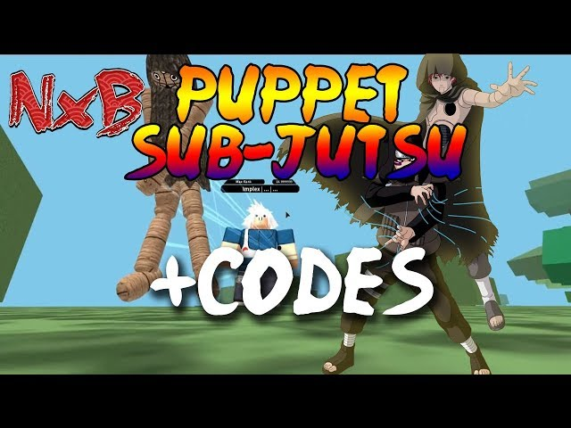 [CODES] NEW PUPPET SUB-JUTSU SHOWCASE IN NRPG BEYOND | ROBLOX NRPG BEYOND