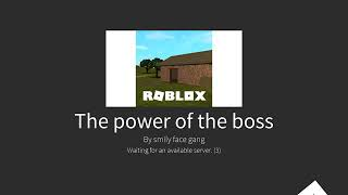 The end of Gad a roblox jailbreak movie the boss is taking over roblox part 1