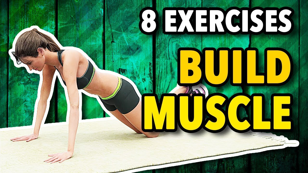 Download 8 Best Exercises To Build Muscle At Home