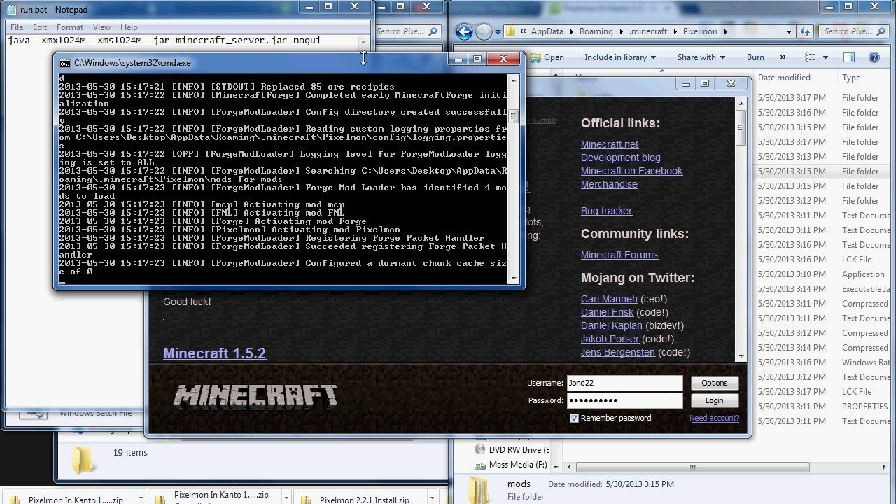how to create own minecraft server
