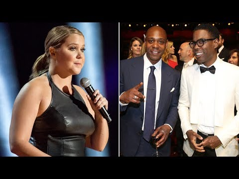 Amy Schumer Wants Chris Rock and Dave Chappelle Money For Netflix Specials? (REACTION)
