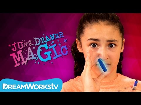 Cap Up Your Nose | JUNK DRAWER MAGIC