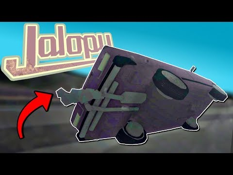 THIS SHOULD BE ILLEGAL! These Drivers Are COMPLETELY CRAZY! - Jalopy Full Release - Jalopy Gameplay
