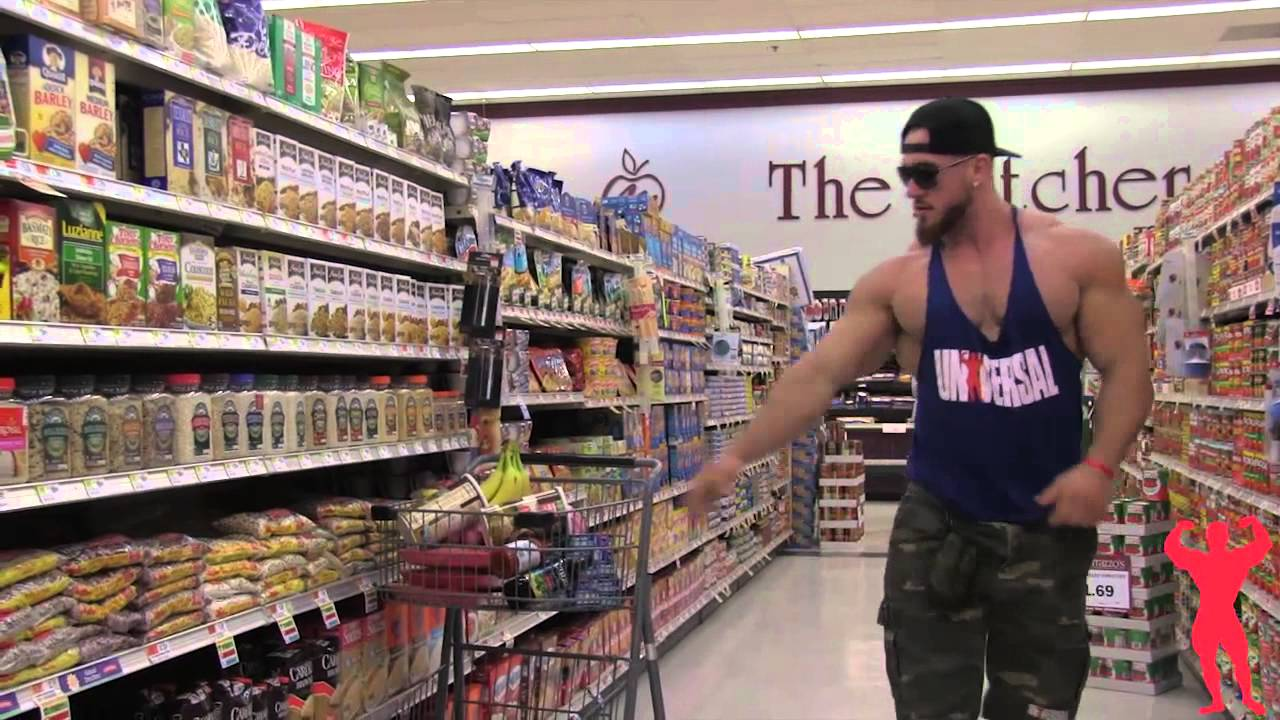 Image result for bodybuilder grocery