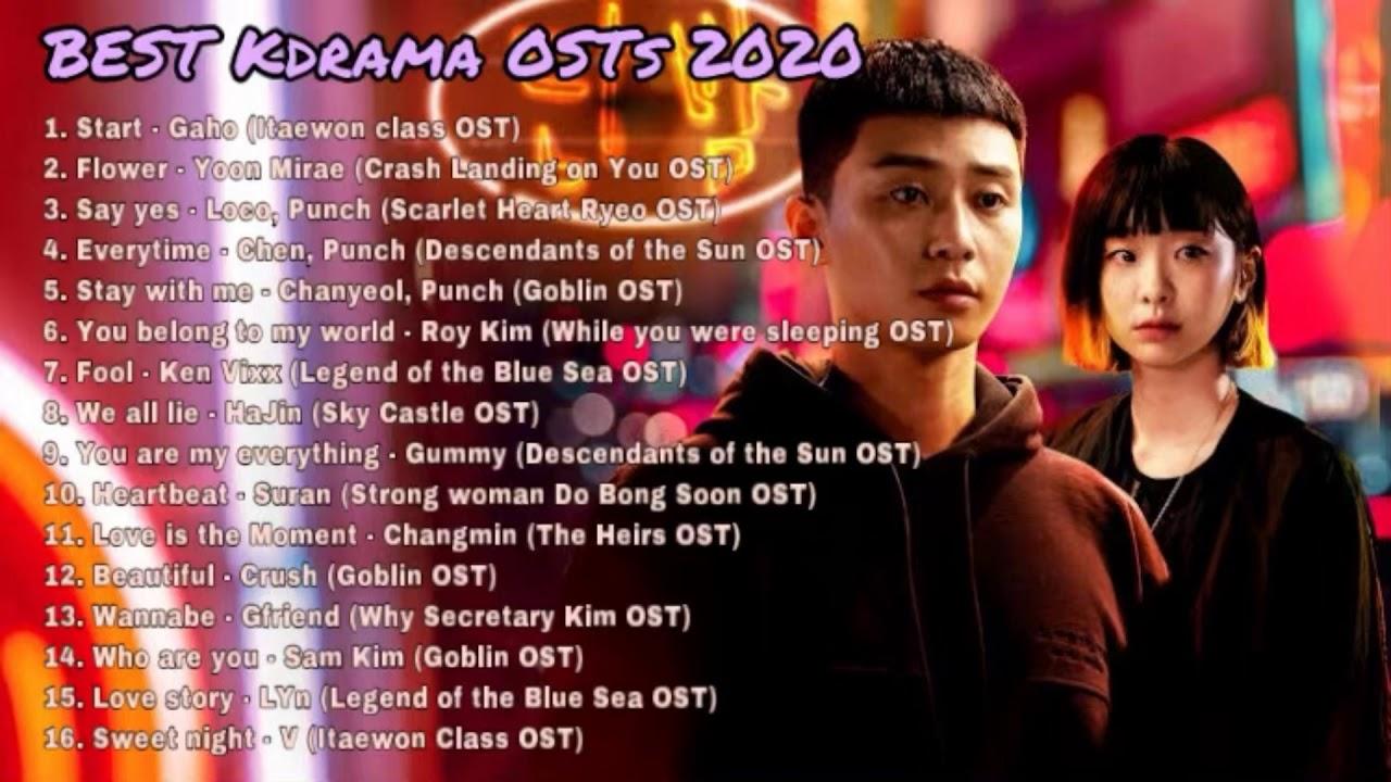 BEST Kdrama OSTs 2020 Playlist - (CLOY, Itaewon Class, Goblin, Sky Castle......)