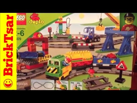 LEGO DUPLO 5609 Deluxe Train Set Review and Play and Compare – Building Toy