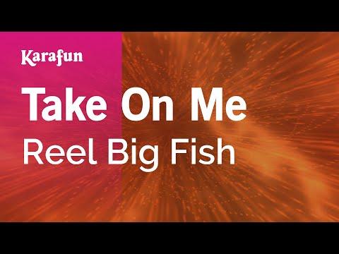 Take On Me - Reel Big Fish | Karaoke Version | KaraFun