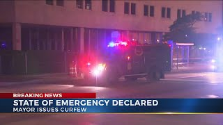 Columbus under curfew as protests continue