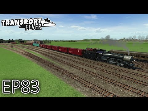 Transport Fever Gameplay | Expanding Freight Operations! | T