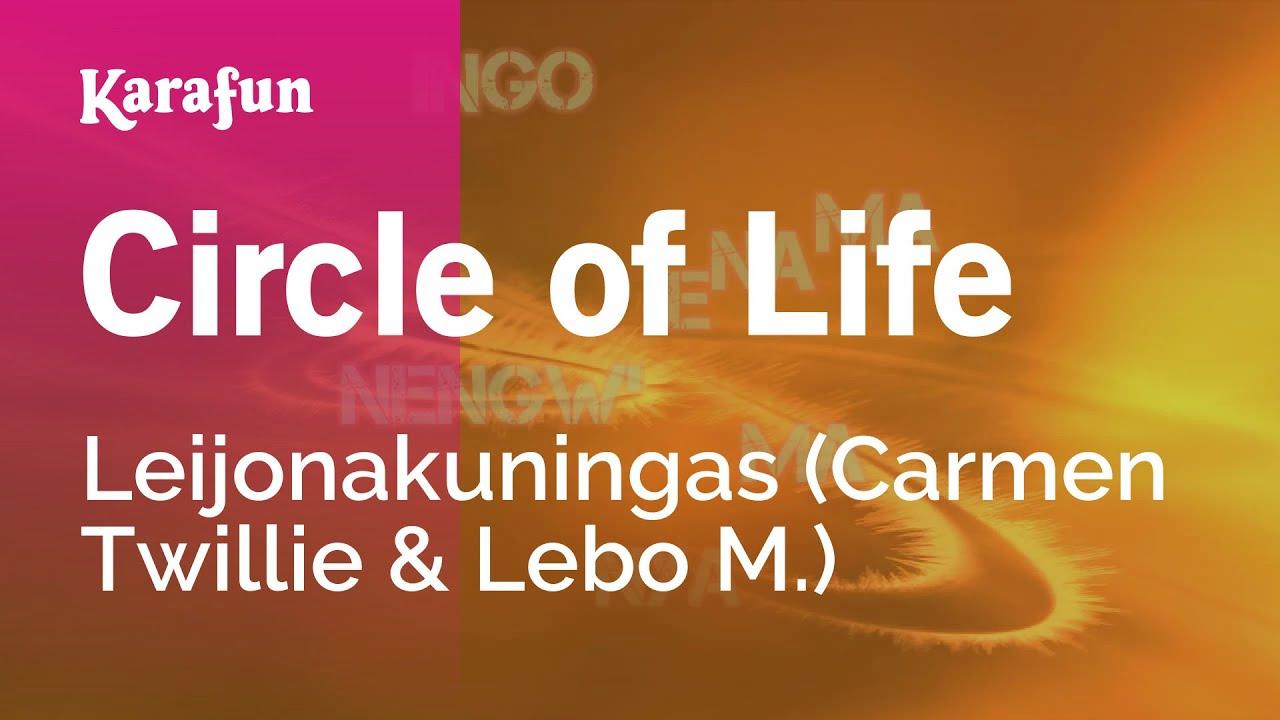 circle of life lion king pdf