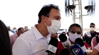Governador Camilo Santana destaca a importância do Polo Metal Mecânico e anuncia mais projetos para