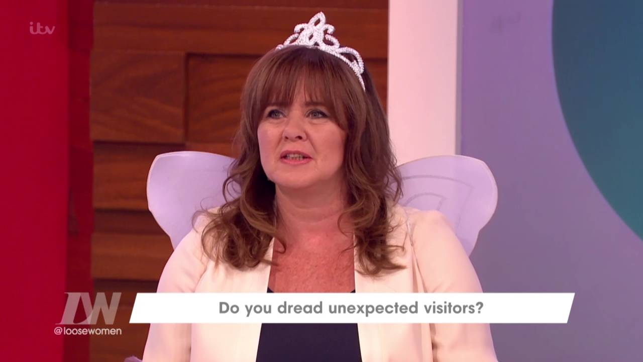 When Keith Chegwin Surprised Coleen | Loose Women - YouTube