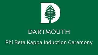 2021 Phi Beta Kappa Induction Ceremony