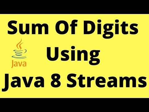 Find Sum Of Digits Of A Number Using Java 8 Streams | InterviewDOT