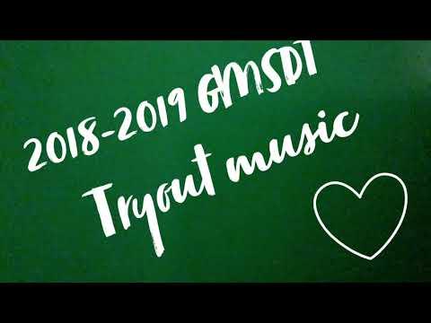 GMSDT Tryout music 2018-2019 Greeneville Middle School