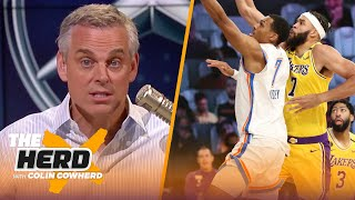 Lakers aren't making the Western Conference Finals, talks Dak & Cowboys' success — Colin | THE HERD