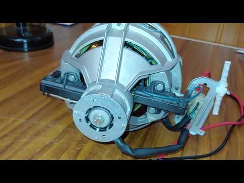 montaggio video IBERNA Lavatrice Spazzole Di Carbone Per INDESCO MOTORS