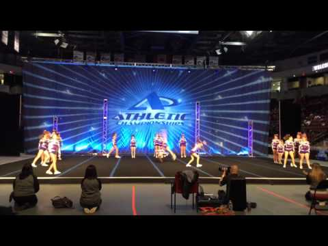 2016 Bravo Allstars Bellas Sm Sr 3 Athletic Silver Championships February 27,2016