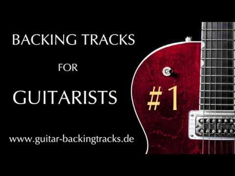 Guitar Backing Track / Playalong / Jamtrack #1 (Ballad, Ska, Funk)