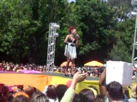 Show da Diva Gloria Cristal na 12º Parada Livre de Porto  Alegre 2008