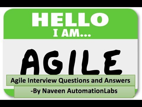 What is Agile    Agile Testing Interview Questions and Answers
