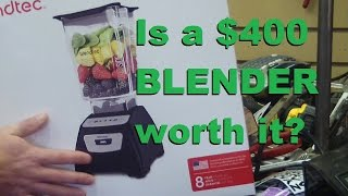 BOLTR: Blendtec it blends, but will it chooch?