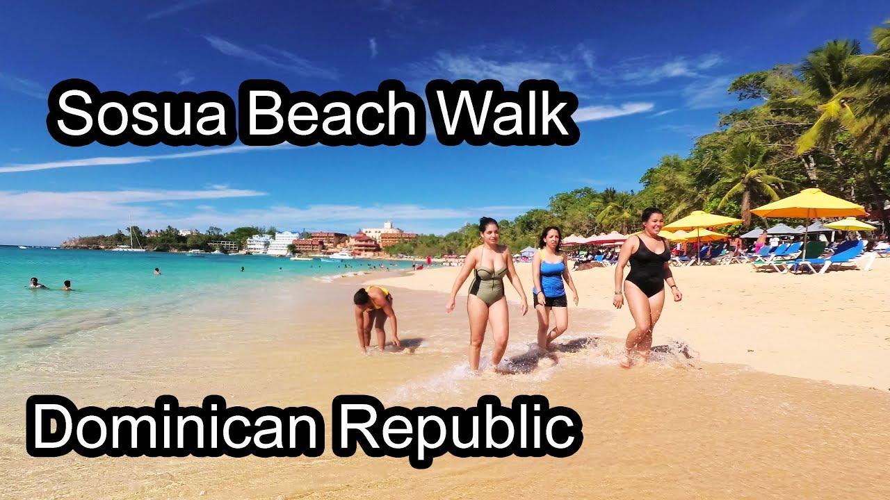 Sosua Beach Walk 1 Dominican Republic