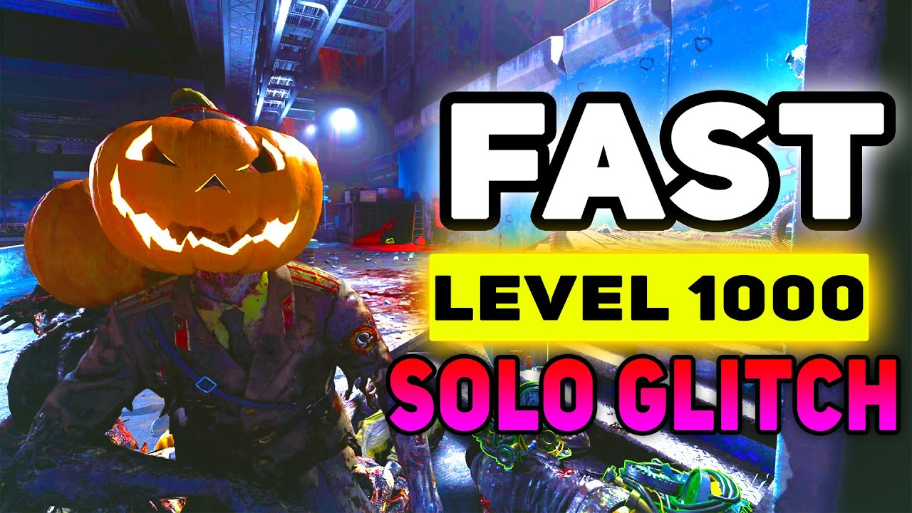 Download SOLO UNLIMITED XP! Level Up Fast Cold War Zombies! Season 6 Cold War Glitches Cold War Xp Glitch