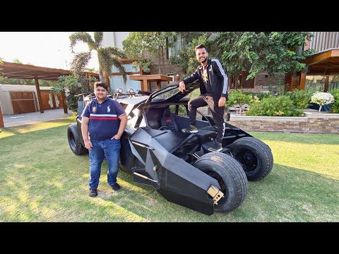 Driving the BATMOBILE in KARACHI!!