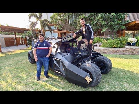 Driving the BATMOBILE in KARACHI!!