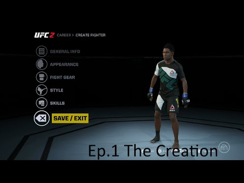 UFC 2 Career Mode | The Creation of Juice