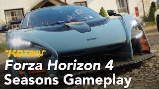 "Forza Horizon 4, ""Seasons"" Gameplay at E3 2018"