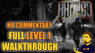 Hatred walkthrough part #1 - Tutorial + HOME (LEVEL 1) | GAMEPLAY | NO COMMENTARY