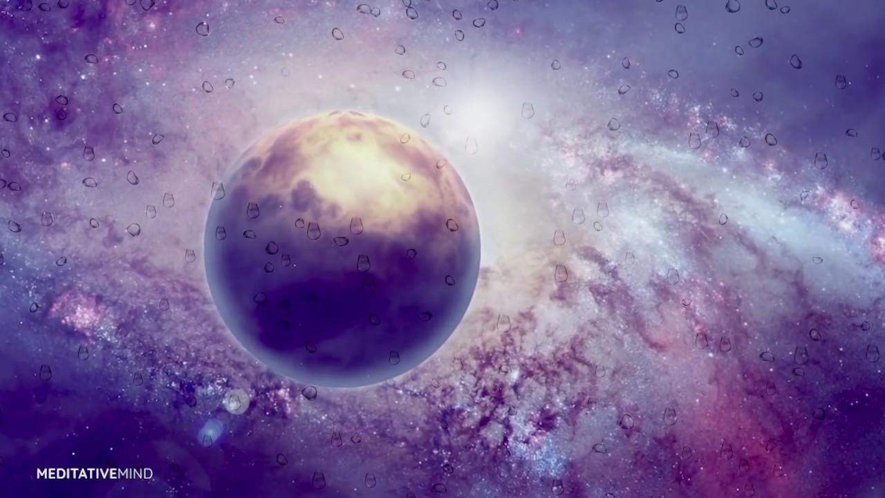 432Hz Cosmic Music for Sleep & Lucid Dreaming | RAIN in SPACE | Sleeping  Music, Dreaming Music