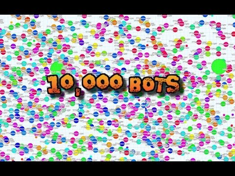 How to HACK Agar.io - 10,000 MASS BOTS GAMEPLAY! Free BOTS Download