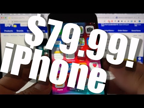 A brand new iPhone for $79.99? Tracfone MQ422LL/A iPhone 6 32GB Best Buy Special