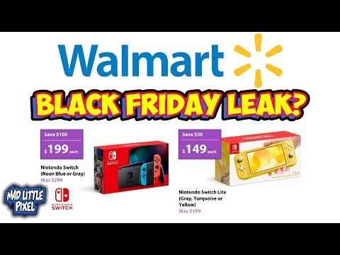 Crazy Black Friday 2019 Deals Leak! Cheap Nintendo Switch Lite? Is This Legit?