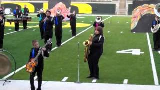 Thurston Marching Band - Bari Sax Solo