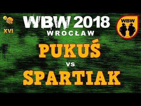 bitwa SPARTIAK vs PUKUŚ # WBW 2018 Wrocław (1/4) # freestyle battle