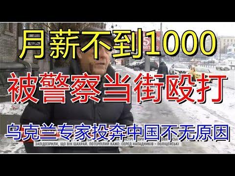 月薪不到1000,被警察当街殴打!乌克兰专家投奔中国不无原因