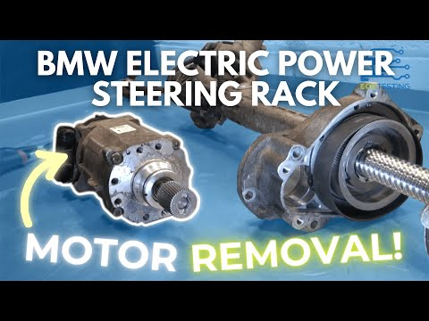 BMW Electric Power Steering Rack Motor Removal