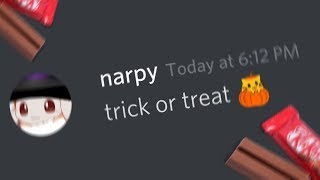 trick or treating on discord